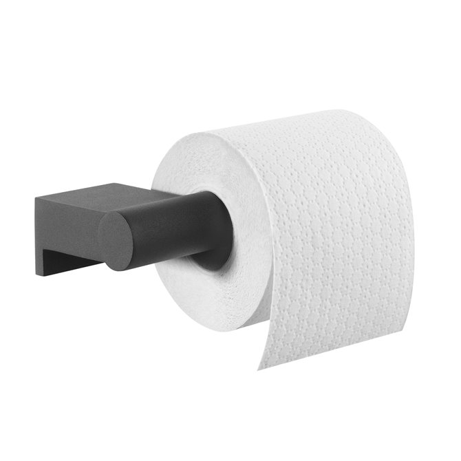 Tiger Bold Toilet Roll Holder Black